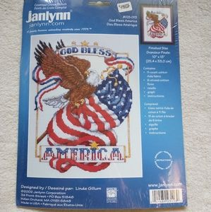 Janlynn Counted Cross Stitch Kit, unopened kit
